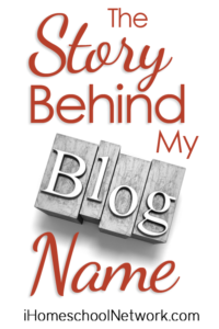 The Story Behind My Blog Name iHN
