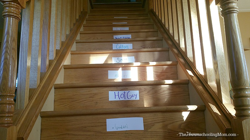 Thankful Everywhere You Look: An Silly November Activity - The Hmmmschooling Mom