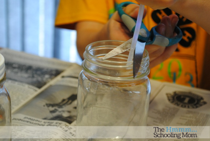 How to make a glow jar...and how NOT to make a glow jar. We test out some pins and share our experiences with you.