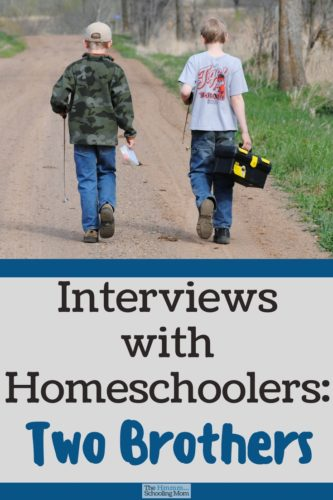 Interviews with homeschoolers are the best way to learn about homeschooling. Let's hear the pros, cons, and everything in between straight from the source!