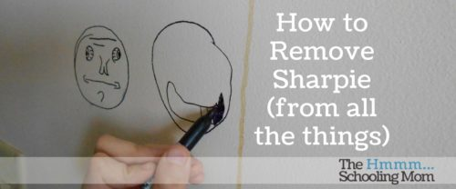 Lots of things are suggested for removing permanent marker or Sharpie from various surfaces, but which ones work? The Pinterest Busters that live with me decided to find out.