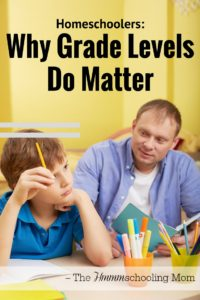 As a homeschooler, do grade levels matter? Sometimes they actually do. -- Homeschoolers: Why Grade Levels Sometimes DO Matter - The Hmmmschooling Mom