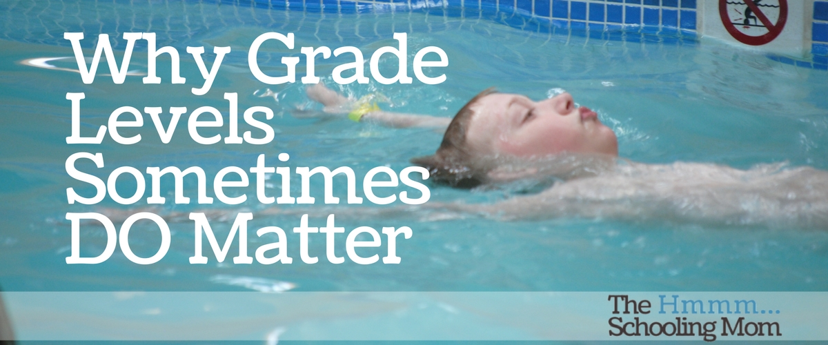 Why Grade Levels Sometimes Do Matter