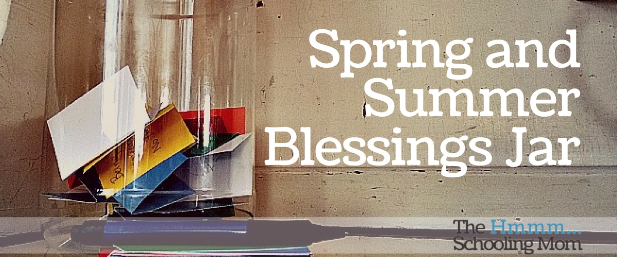 Spring and Summer Blessings Jar