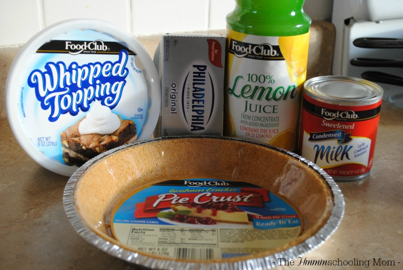 Kitchen Kids Lemon Cheesecake Pie