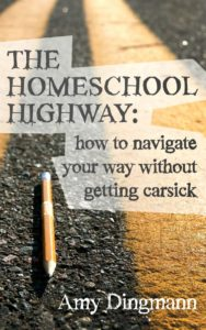 Tired of hearing the sugarcoated version of homeschooling? Check out The Homeschoo Highway: How to Navigate Your Way Without Getting Carsick by Amy Dingmann, The Hmmmschooling Mom