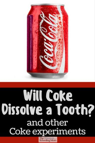 Will Coke dissolve a tooth? Can Coke clean a penny...or a toilet? Read on for our results in our Coke experiments.