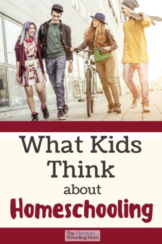 Everyone wants to know what kids think about homeschooling, so I gave my kids a list of questions from my readers. Here are there unedited answers.