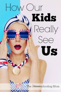 As moms, we're so worried about looking our best...but what do your kids see? How Our Kids Really See Us - The Hmmmschooling Mom