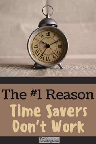 You've got all the technology and time savers that your ancestors didn't have...and you still don't have any free time. Why? I think I've figured it out.