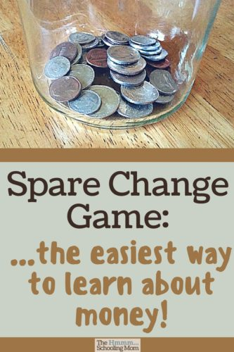 Money is confusing, to say the least. Our favorite hands on way to learn about money is the Spare Change game -- there's a great payoff that kids love!