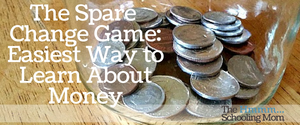 The Spare Change Game: Easiest Way to Learn About Money!