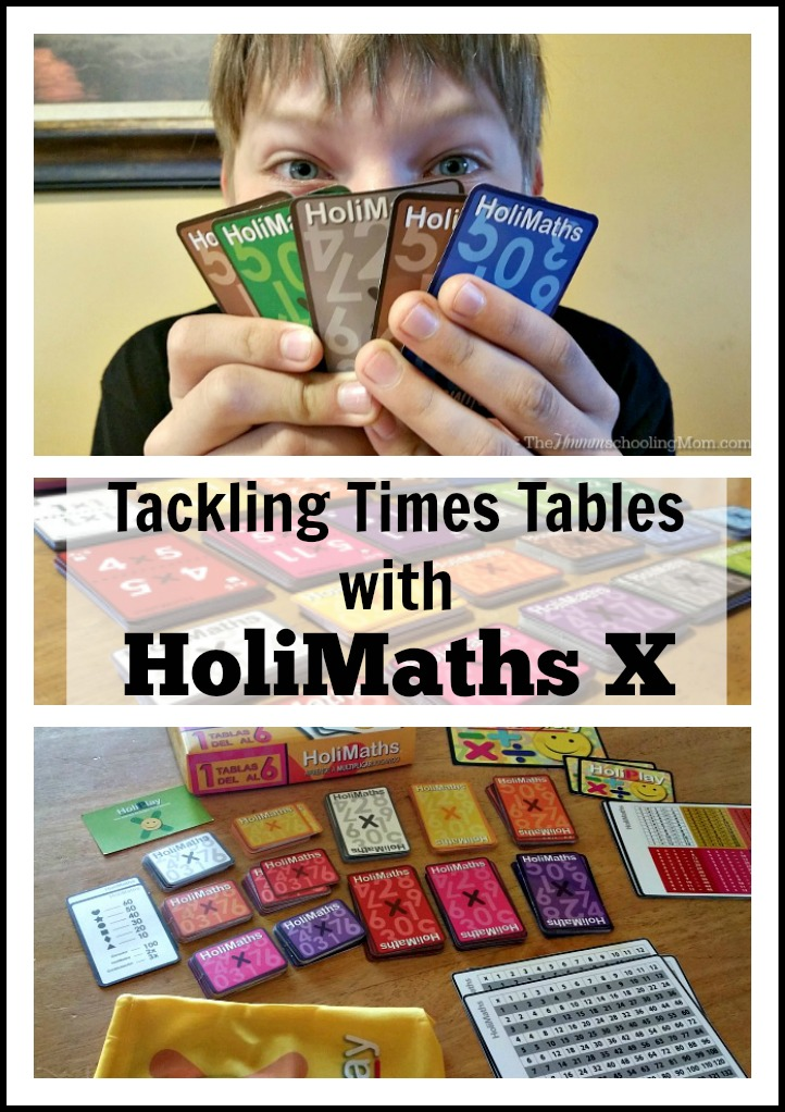 Tackle Your Times Tables with HoliMaths - The Hmmmschooling Mom