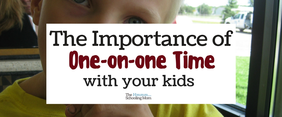 importance of time for kids