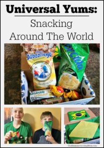 Snacking Around the World: Universal Yums - The Hmmmschooling Mom