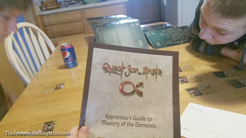 Magic, Battles...and Creative Chemistry? Check out the new game Quest for Arete for an afternoon of magic, duels, and fun with chemistry concepts! - The Hmmmschooling Mom