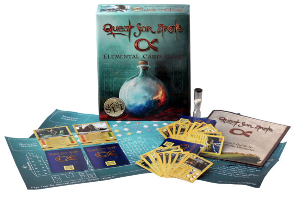 Magic, Battles...and Creative Chemistry? Check out Quest for Arete, a new card game full of magic, duels, and fun! - The Hmmschooling Mom