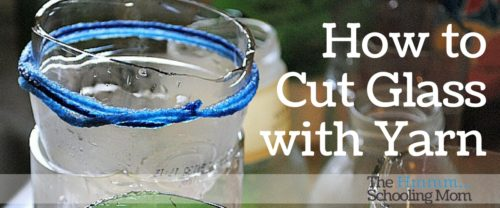 Rumor has it you can cut glass with yarn. Does it work? Let's just see about that...