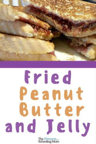 The lunch I grew up on—clearly the best lunch ever—is Fried Peanut Butter and Jelly. Introduce your family to this mouthful of Awesome.