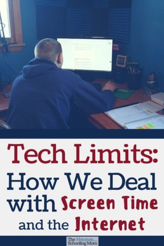 Should kids/teens have tech limits? How do we deal when our kids want to use tech, electronics, and the internet? Here's how we do things at our house...