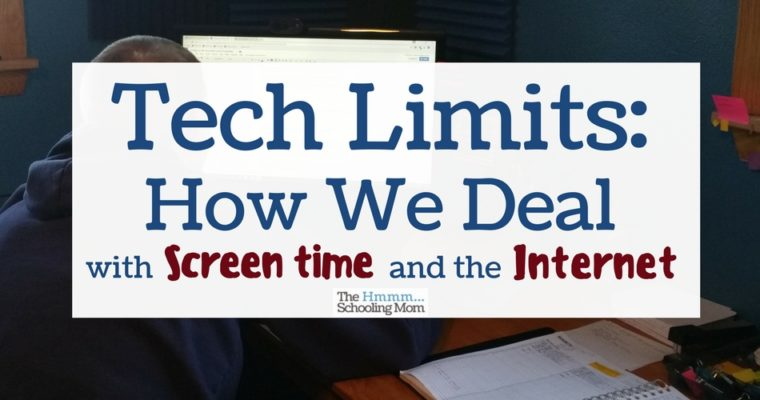 Tech Limits: How we Deal with Screen Time and the Internet