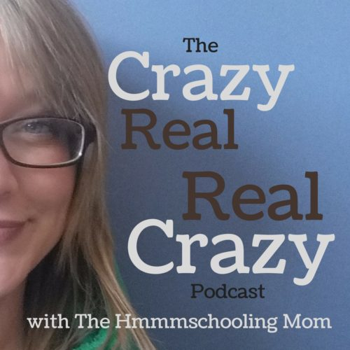 The Crazy Real, Real Crazy Podcast (CRRC) with Amy Dingmann, The Hmmmschooling Mom