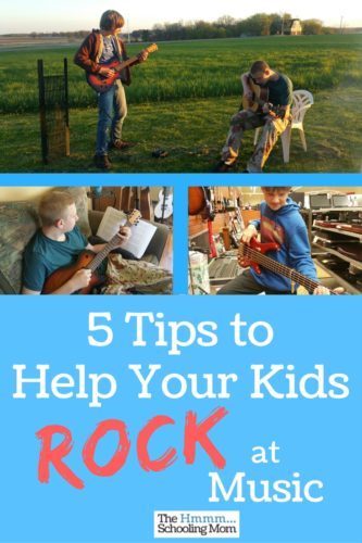 Wondering how to best support your kids in their musical education and adventures? Here are five tips I've learned over the years that have really helped my kids learn a lot while they rock at music.