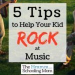 5 Tips to Help Your Kid Rock at Music