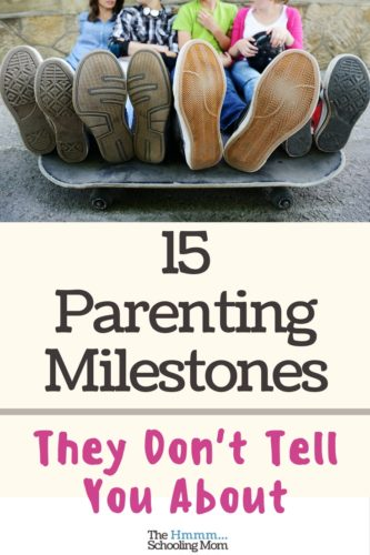 Think surviving the driver's license is the only milestone you're going to hit with older kids? Nah. Here are 15 parenting milestones they don't tell you about...