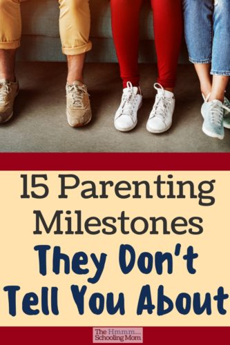 Here are 15 parenting milestones you will experience as the parent of an older kid—and these go way beyond surviving the driver's license...