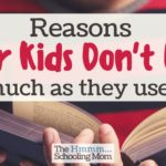 Reasons Older Kids Don't Read (as much as they used to)