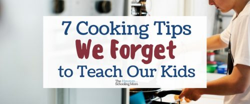 Do you want to teach kids to cook? Great! But you should really read this first. There are quite a few things we forget to fill our kids in on...