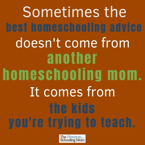As homeschooling parents, we're always looking for the best homeschooling advice. But are we asking the right people for the advice?