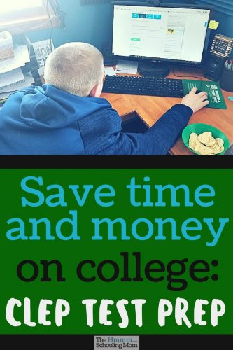 Thanks to the fabulous CLEP test prep options available at Study.com, my sons will get a jump start on college, and save money in the process.