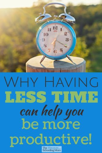 You don't have a lot of time? That's okay! Learn why that fact can actually help you be more productive and reach your goals—whether that's cleaning the bathroom or writing a book.