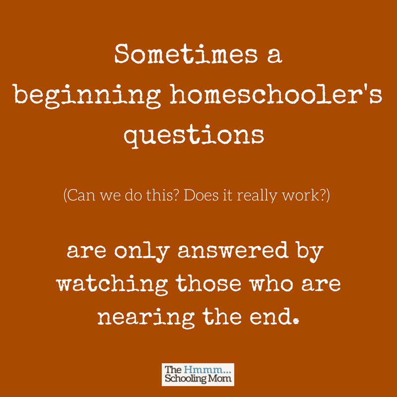 Find yourself wondering where the homeschooling high school community disappeared to? Here's an explanation about why there are less homeschool blogs and groups as your homeschoolers get older...